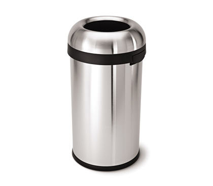 Simplehuman kitchen trash cans bathroom trash bins for Commercial bathroom trash cans
