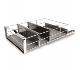 14 inch, pull-out cabinet organizer