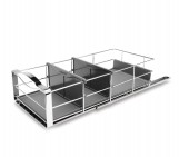 9 inch, pull-out cabinet organizer
