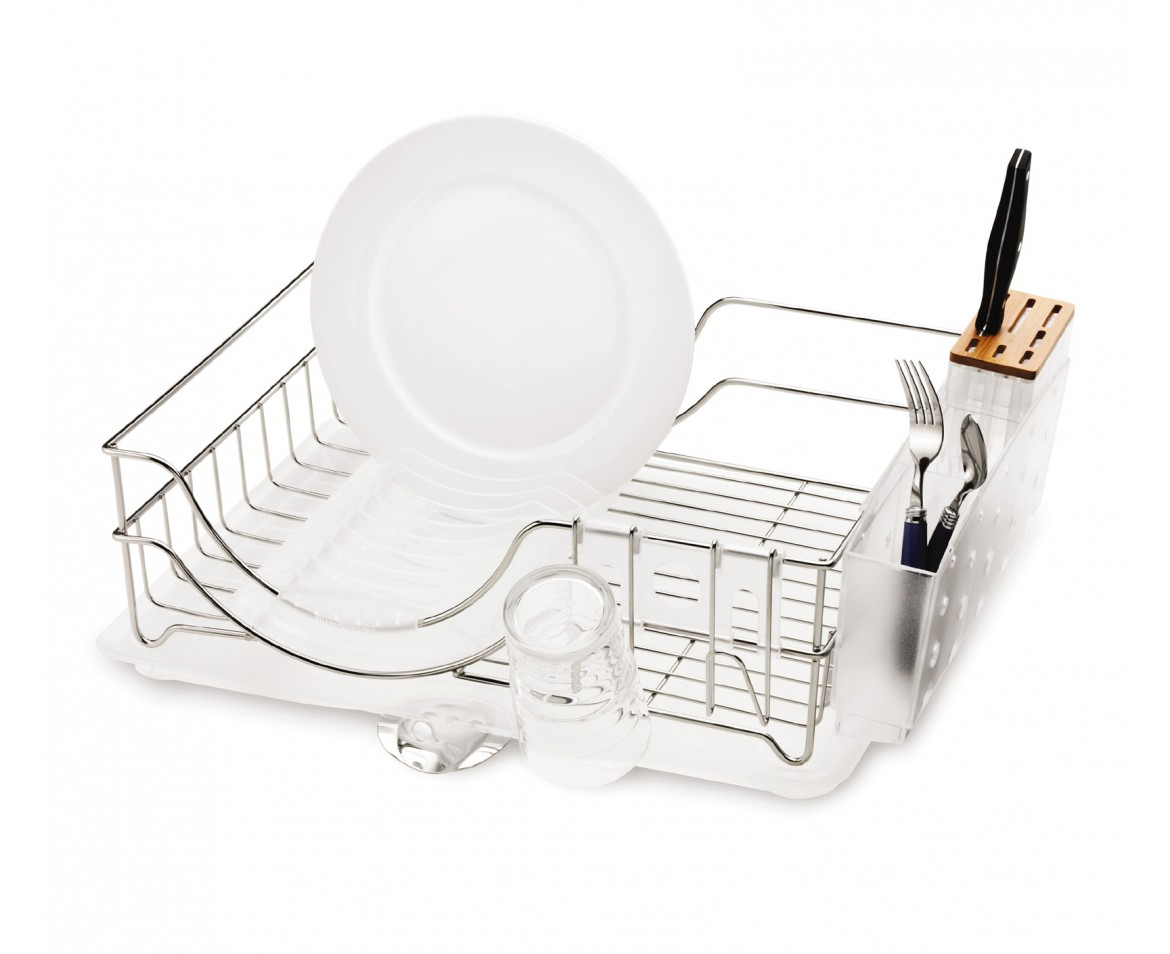 Simplehuman Wire Frame Stainless Steel Dishrack