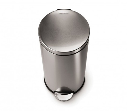 simplehuman trash cans wastebaskets for kitchen and bathroom