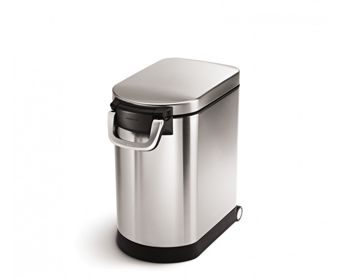 Simplehuman Medium Stainless Steel Pet Food Can