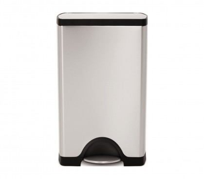 retina   38 litre  rectangular step can. simplehuman   Pedal Bins