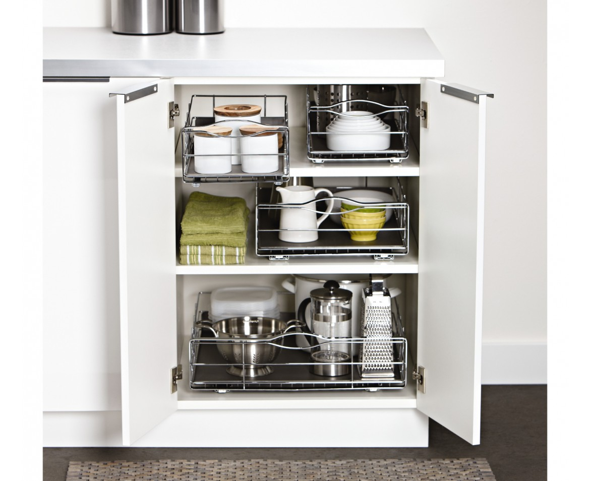 simplehuman | 22.8cm pull-out cabinet organiser