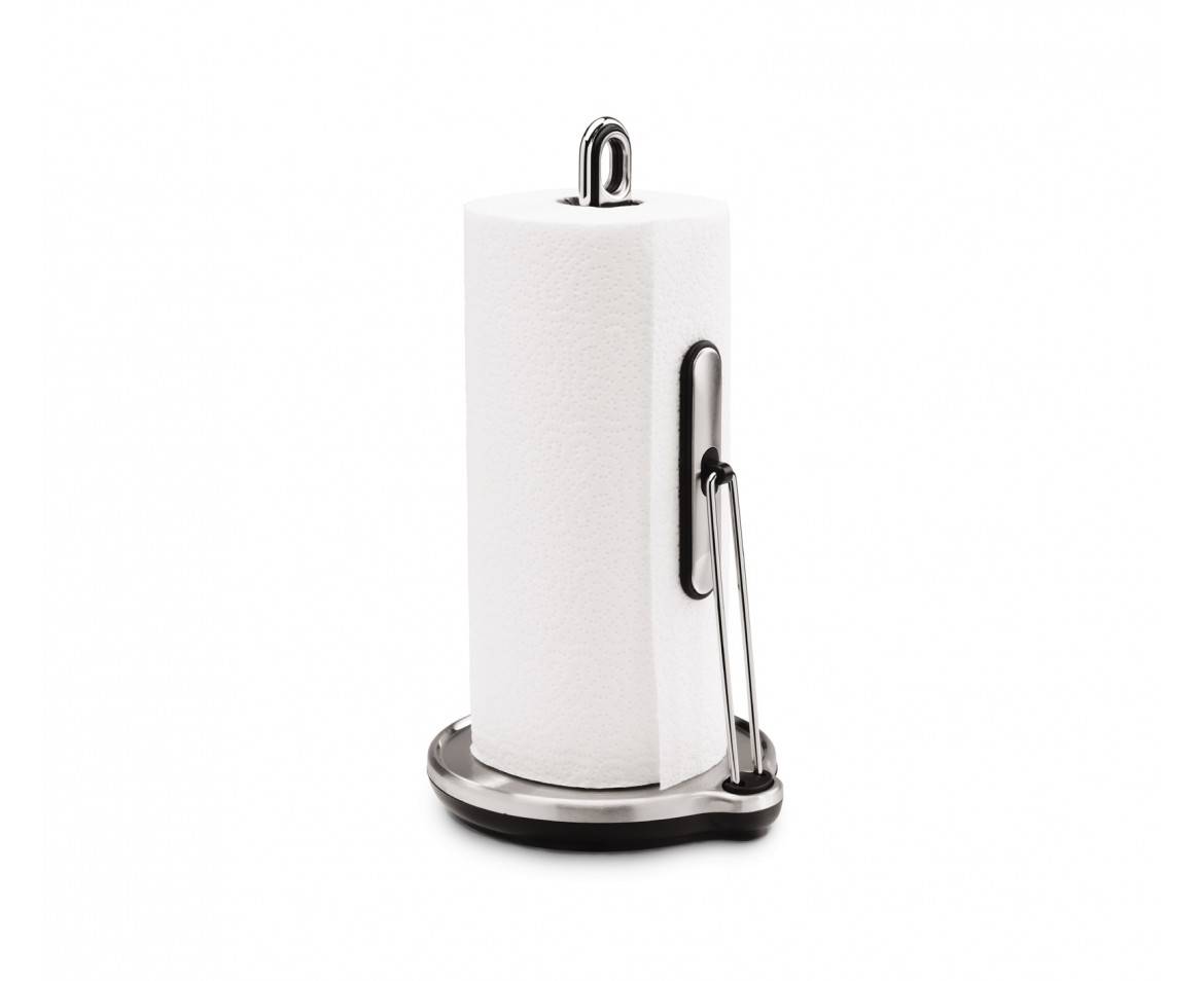 simplehuman   tension arm kitchen roll holder, stainless steel