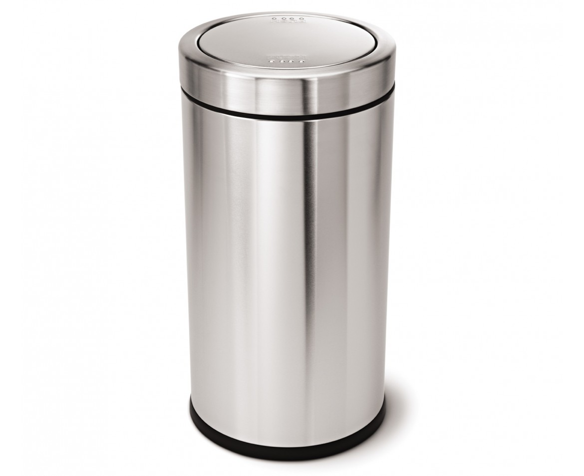 Simplehuman 55 Litre Swing Top Bin Brushed Stainless