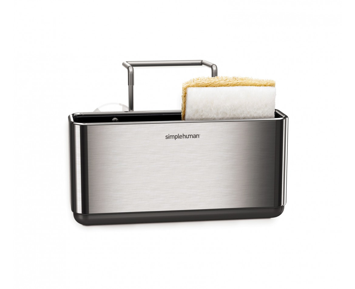 Simplehuman Slim Sink Caddy Brushed Stainless Steel