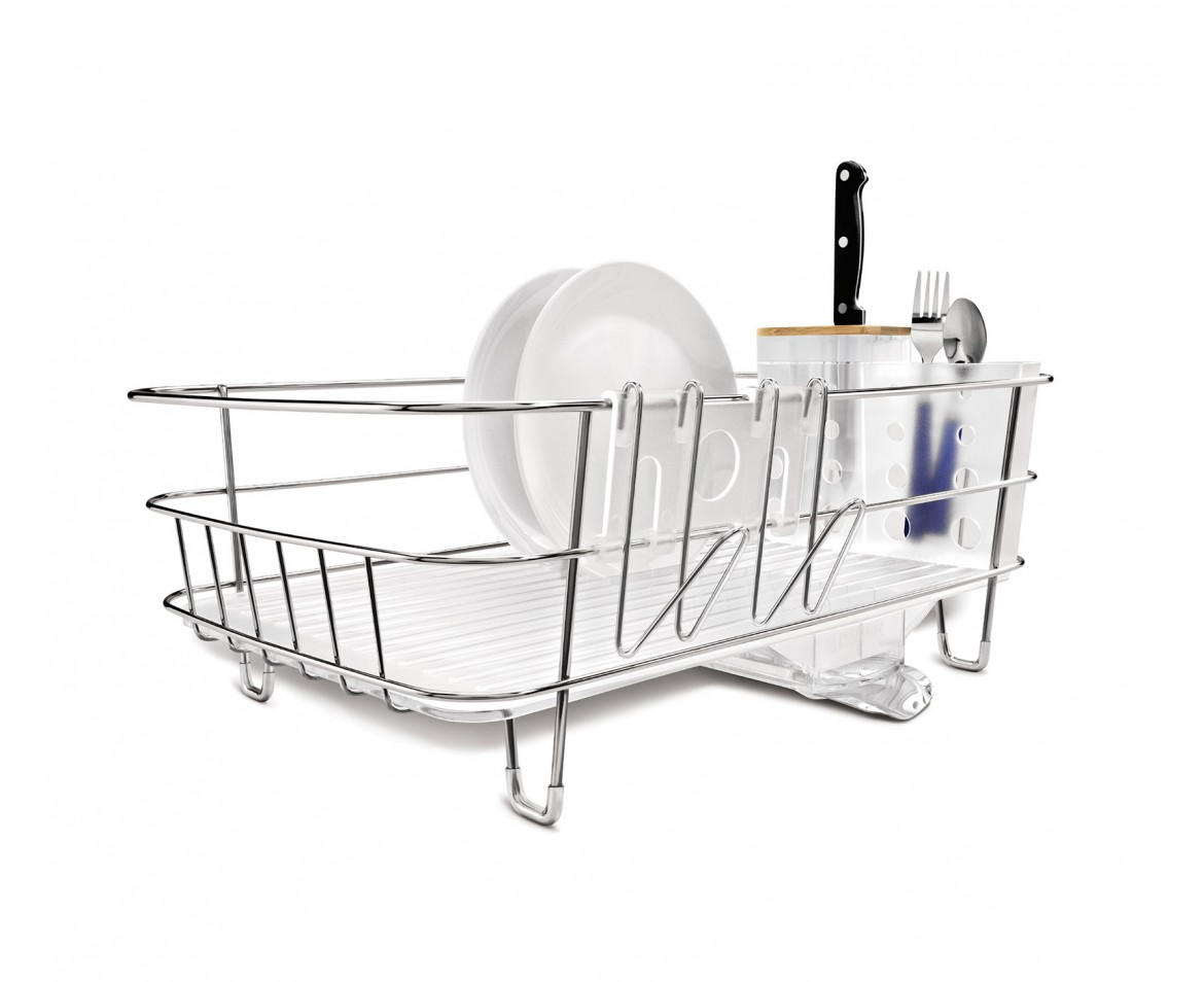 Uncategorized Simplehuman System Dish Rack simplehuman slim wire frame dishrack stainless steel