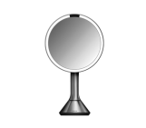 20cm sensor mirror, brushed stainless steel
