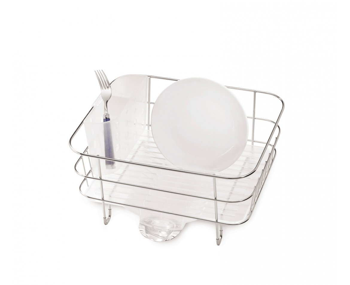 Simplehuman Compact Wire Frame Dishrack Stainless Steel