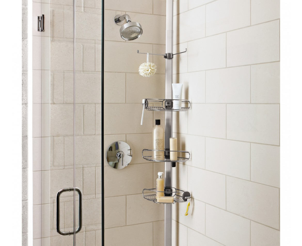 Bathroom Shower Rack. ikea shower caddy shower storage set of 2 home ...