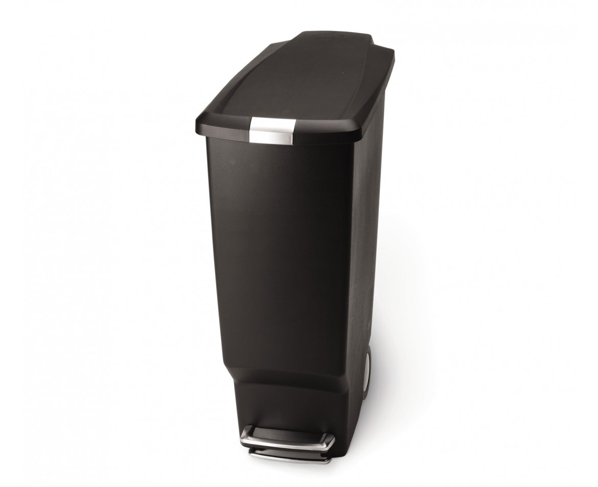 Retro Trash Cans Kitchen Simple Human Trash Can Simplehuman Stainless Steel Fingerprint