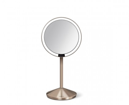 12cm sensor mirror, rose gold