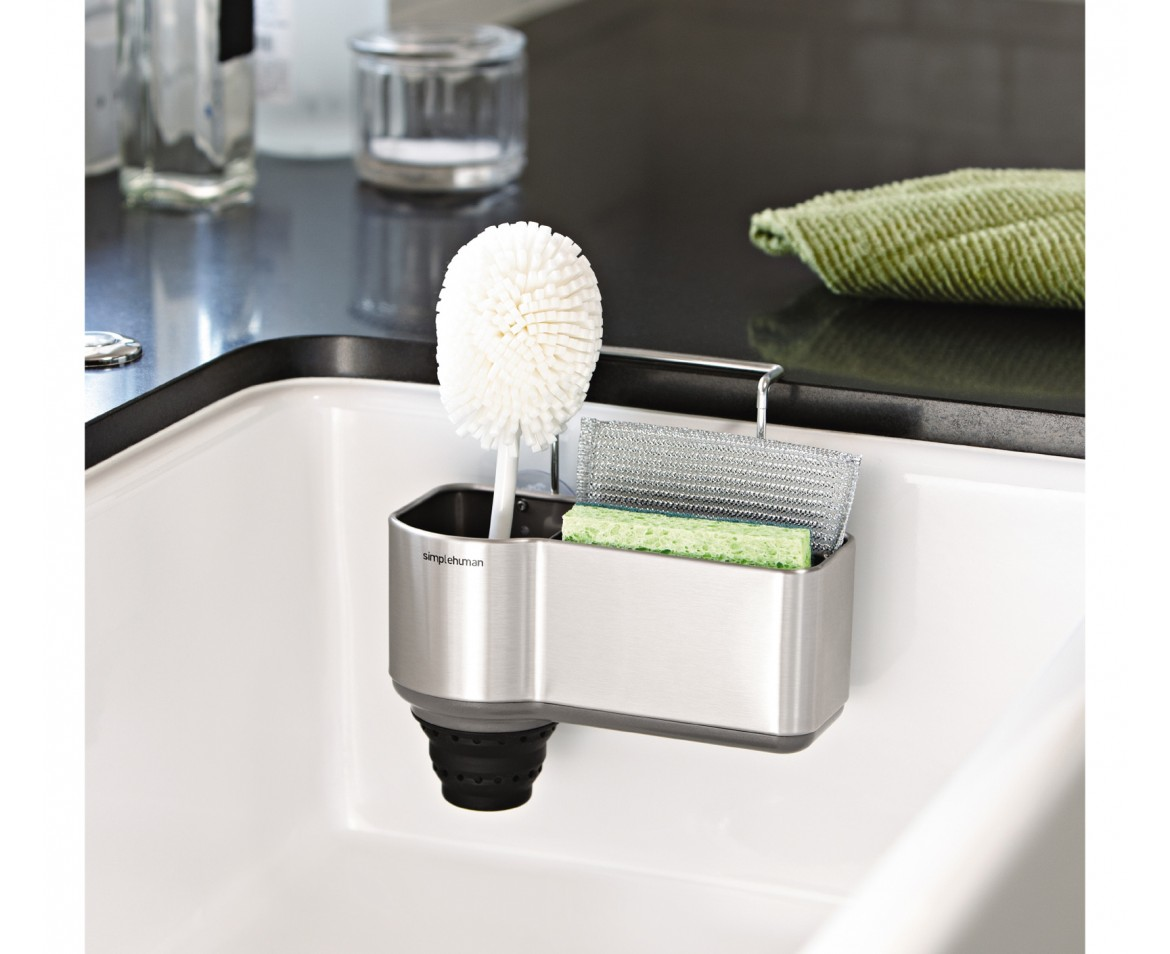 Simplehuman Sink Caddy Brushed Stainless Steel