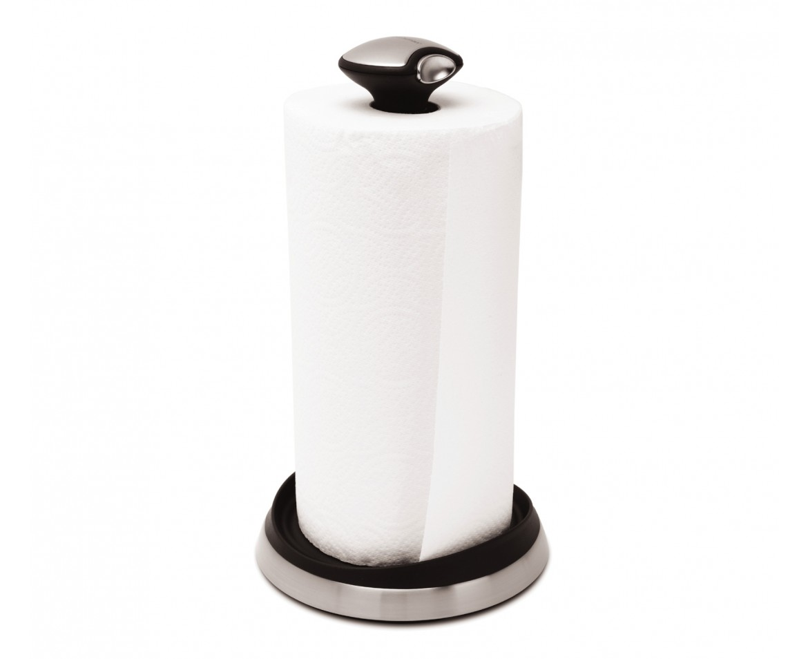 quick load kitchen roll holder stainless steel