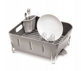 compact dishrack, grey